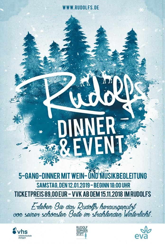 Rudolfs Küche & Café - Dinner&Event 2019