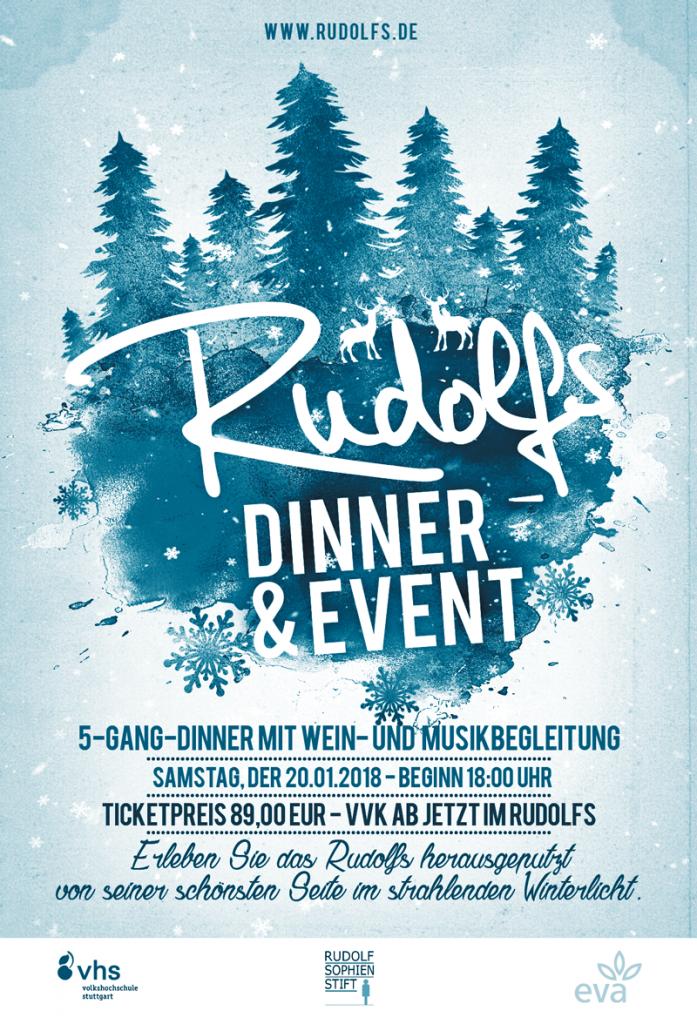 Rudolfs Küche & Café - Winterparty - Dinner&Event 2018